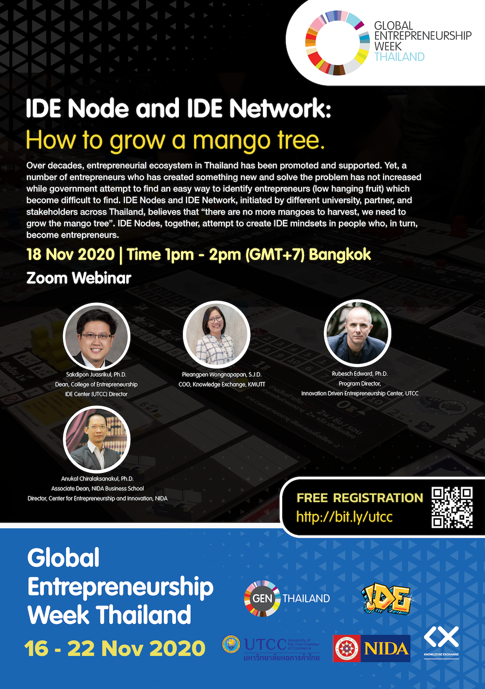 IDE Node and IDE Network: How to grow the mango tree, not build the airplane