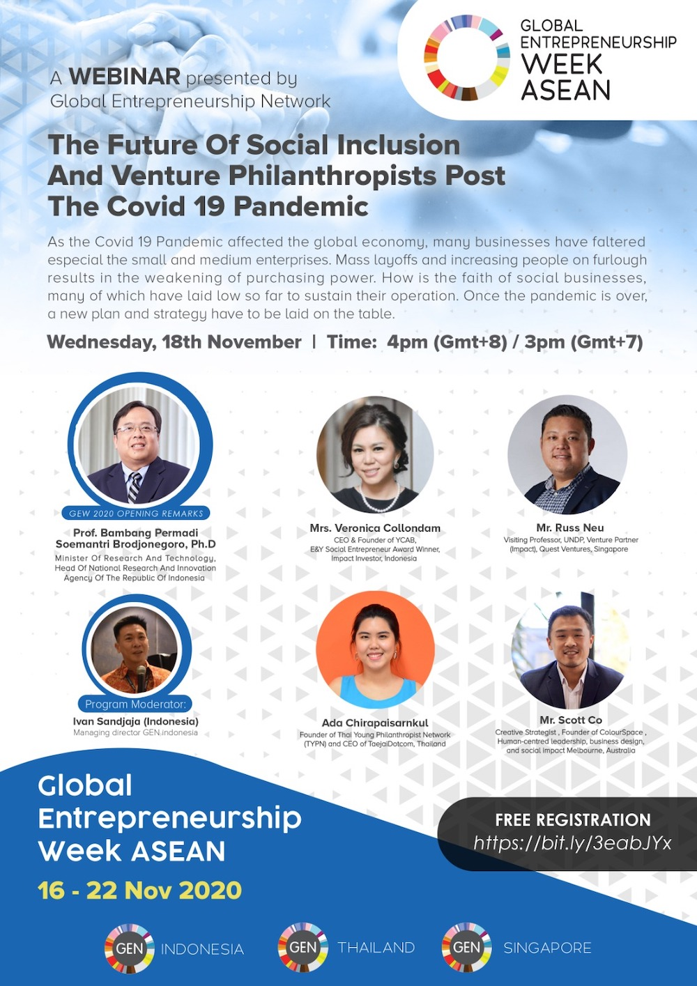 The future of social inclusion and venture philanthropists post the COVID-19 pandemic
